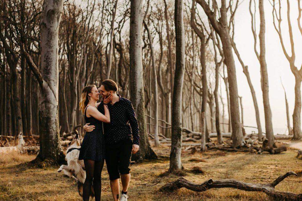 Fotoshooting im Gespensterwald