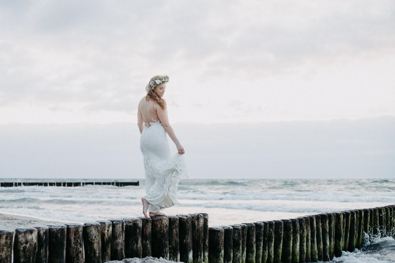 Hochzeitsfoto Ostsee