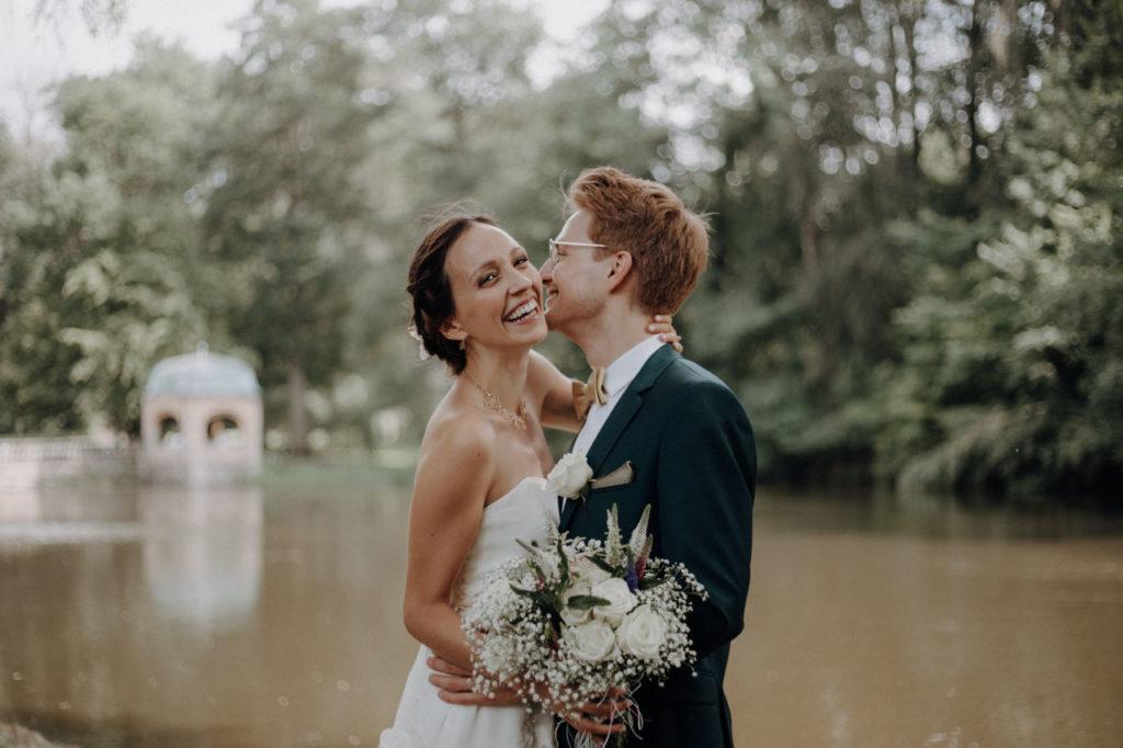 Emotionales Brautpaarshooting