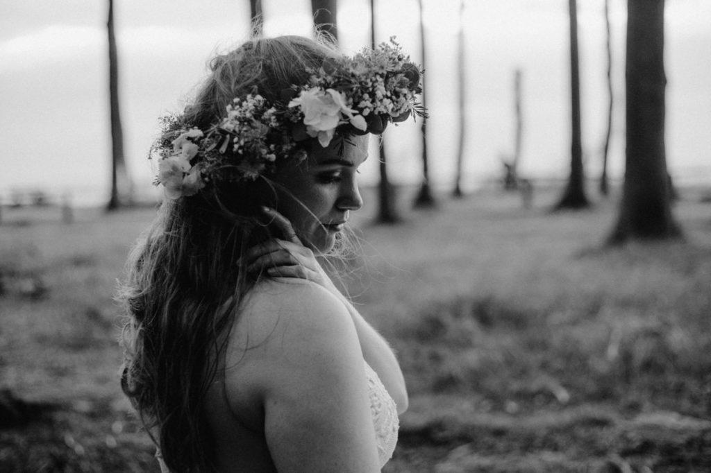 Braut im Gespensterwald Winter