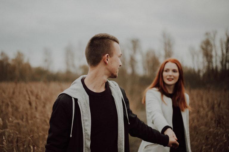 ungestellte Paarfotografie Lovestory