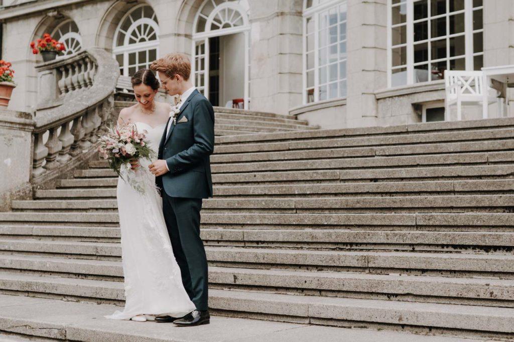 Hochzeit am Schloss Bellin First Look